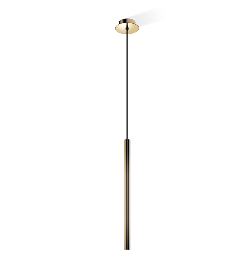 Decor Walther 0216210 DW-Pipe 1 D Pendant Light - Brass Polished