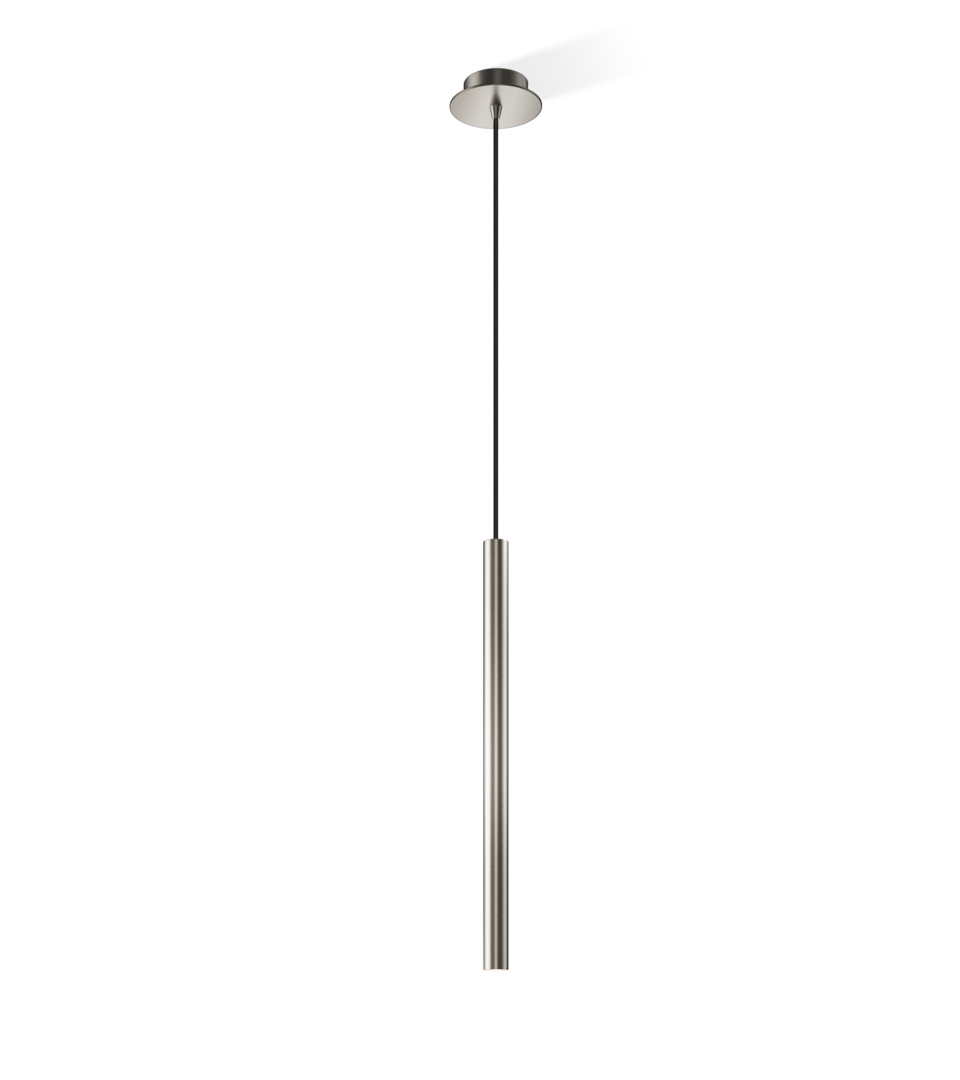 Decor Walther 0216234 DW-Pipe 1 D Pendant Light - Nickel Satined