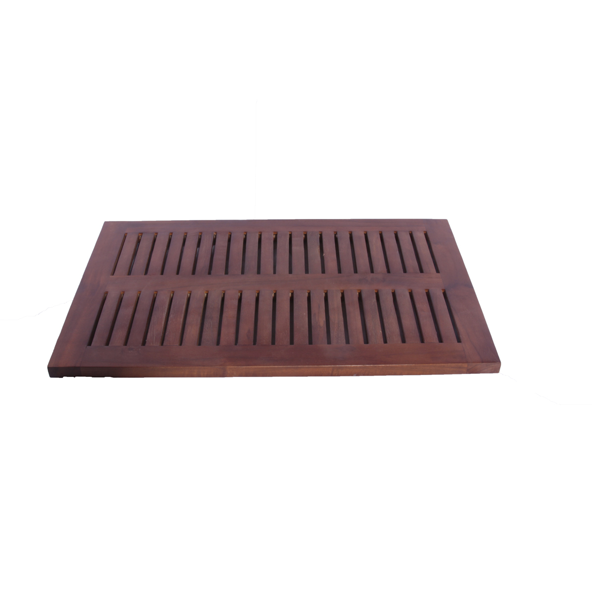 "Decoteak DT133 23"" x 15"" Teak Shower Bath Floor Mat"