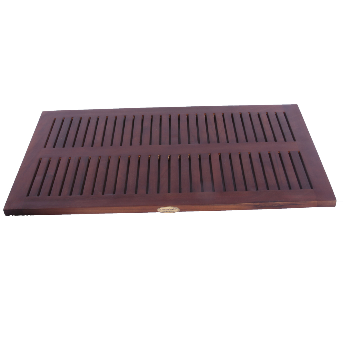 "Decoteak DT134 31"" x 18"" Teak Shower Bath Floor Mat"