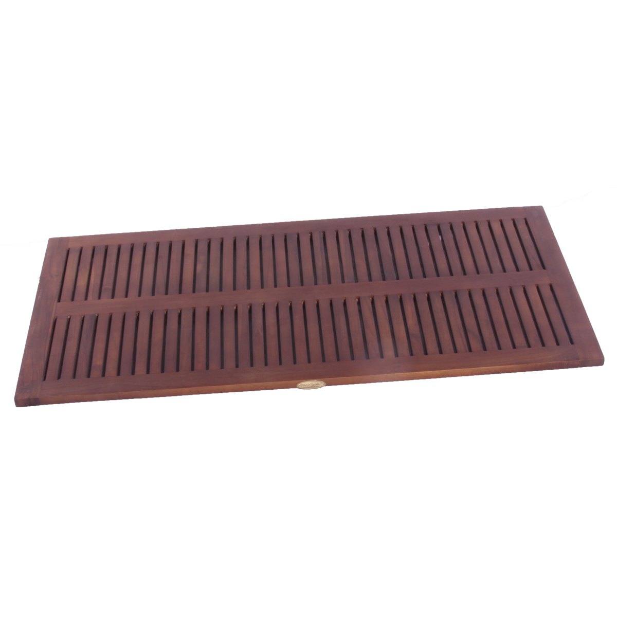 "Decoteak DT135 40"" x 20"" Teak Shower Bath Floor Mat"