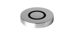 Dornbracht 10713970-00 Round Universal Air Switch Operating Button, Trim Parts Only - Polished Chrome