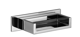 Dornbracht 13420979-00 Rectangular Universal Water Fall Cascade Spout for Wall-Mounted Installation - Polished Chrome