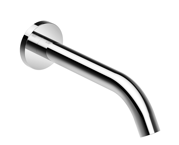 Dornbracht 13801660-00 Meta Tub Spout for Wall-Mounted Installation - Polished Chrome
