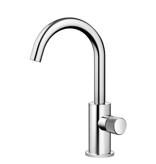Dornbracht 17500661-060010 Meta Pillar Tap Cold Water Only - Platinum Matte