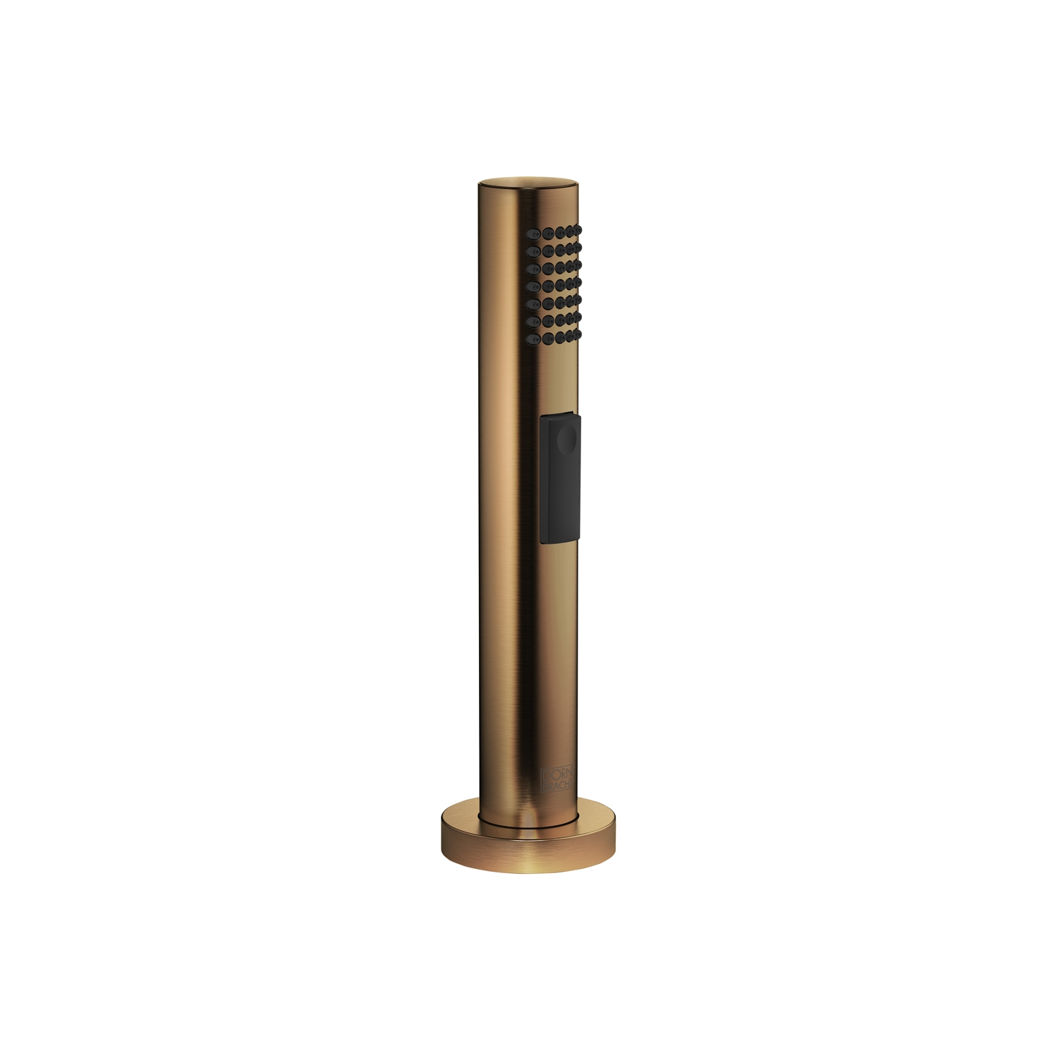 Dornbracht 27721970-16 Round Universal Side Spray Set - Dark Brass Matte