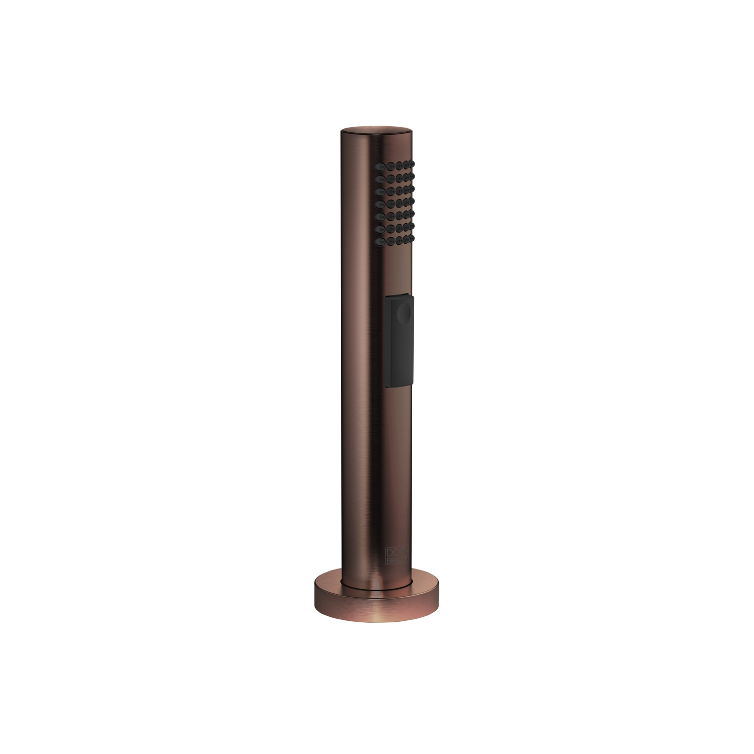 Dornbracht 27721970-17 Round Universal Side Spray Set - Dark Bronze Matte