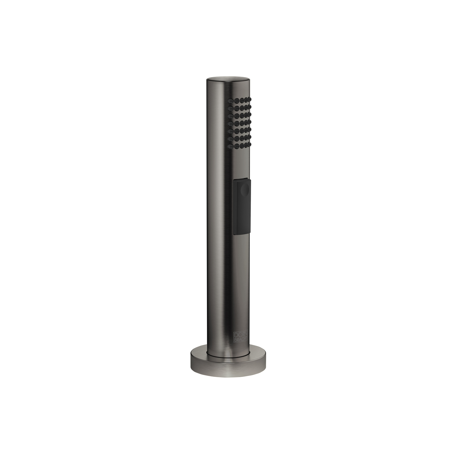 Dornbracht 27721970-99 Round Universal Side Spray Set - Dark Platinum Matte