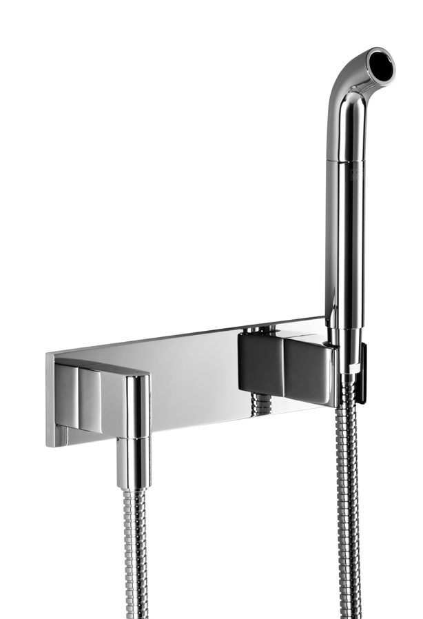 Dornbracht 27838979-00 Design-Neutral Affusion Pipe with Cover Plate - Polished Chrome