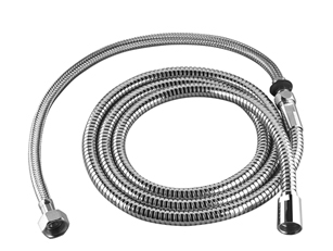 "Dornbracht 28323970-06 Spare Parts Metal Shower Hose Two-Piece 1/2"" X 3/8"" X 88-5/8"" - Platinum Matte"