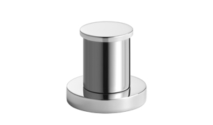 Dornbracht 29140979-00 Round Universal Two-Way Diverter for Deck-Mounted Tub Installation - Polished Chrome