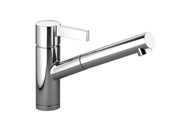 Dornbracht 33840760-000010 Eno Single-Lever Mixer with Pull-Out Spout - Polished Chrome