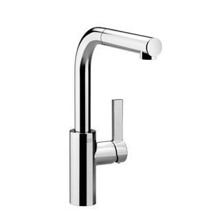 Dornbracht 33840790-000010 Eno Single-Lever Mixer with Pull-Out Spout - Polished Chrome