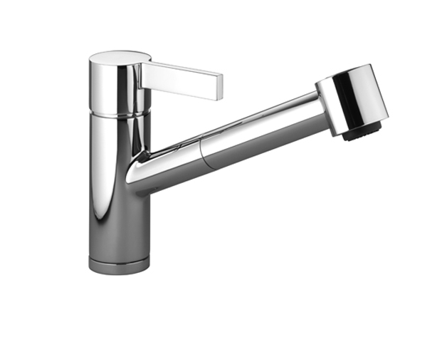 Dornbracht 33870760-000010 Eno Single-Lever Mixer with Pull-Out Spout with Spray Function - Polished Chrome