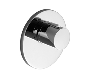 Dornbracht 36416979-00 Round Universal Xtool Concealed Thermostat without Volume Control - Polished Chrome