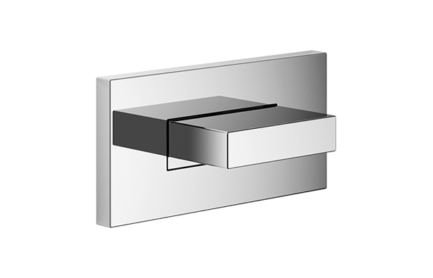 Dornbracht 36514979-000010 Rectangular Universal Water Curve Body Spray - Polished Chrome