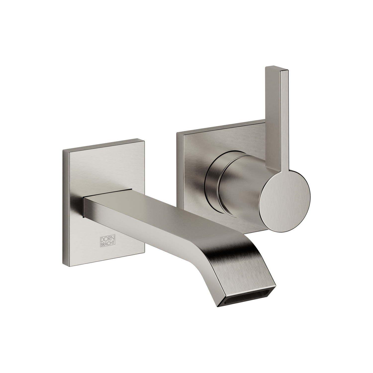 Dornbracht 36810670-060010 IMO Wall-Mounted Single-Lever Mixer without Drain - Platinum Matte