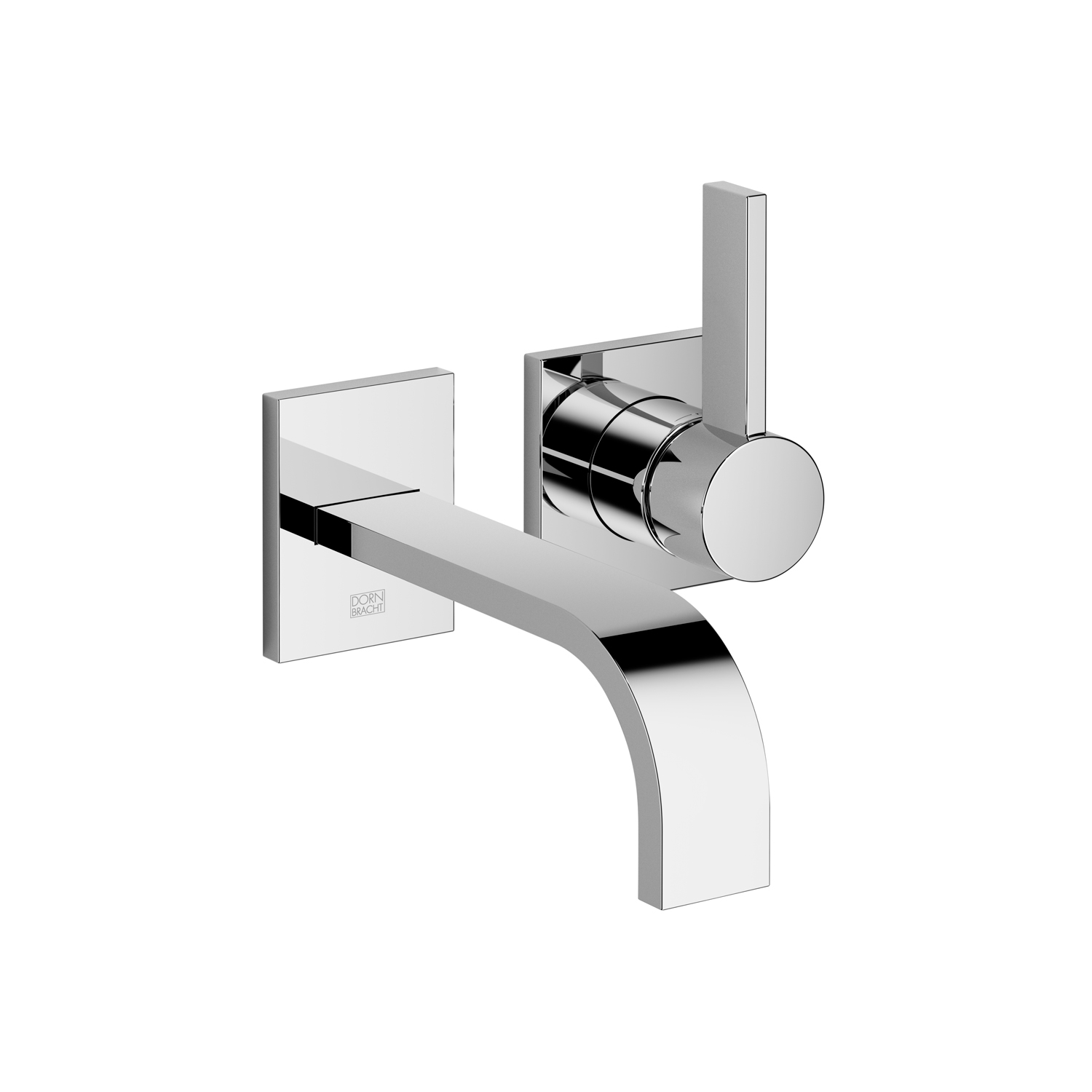 Dornbracht 36810782-000010 MEM Wall-Mounted Single-Lever Mixer without Drain - Polished Chrome