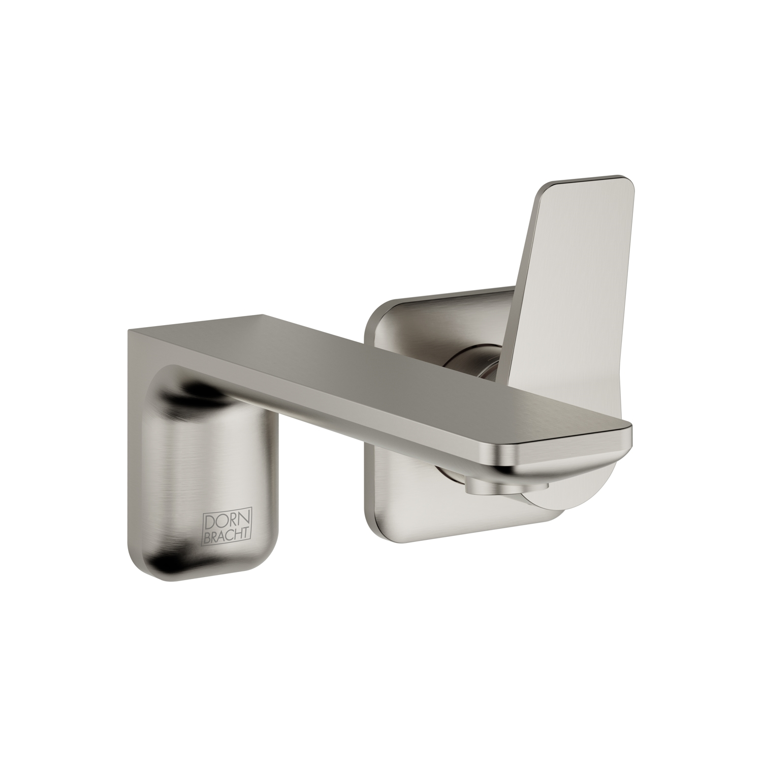 Dornbracht 36810845-06 Lisse Wall-Mounted Single-Lever Mixer without Drain - Platinum Matte