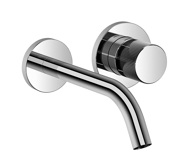 Dornbracht 36812664-000010 Meta Meta Pure Wall-Mounted Single-Lever Mixer without Drain - Polished Chrome