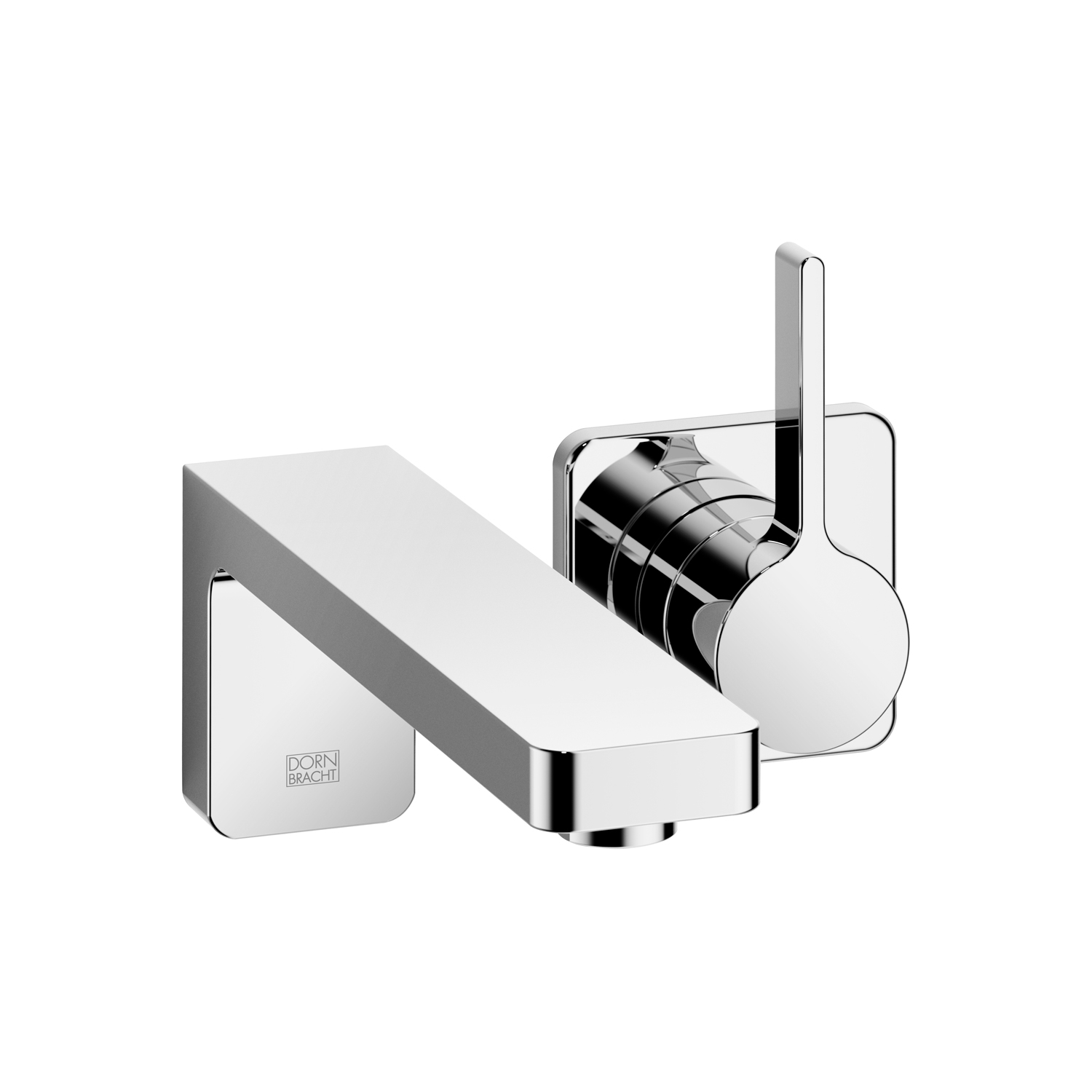 Dornbracht 36812710-000010 LULU Wall-Mounted Single-Lever Mixer without Drain - Polished Chrome