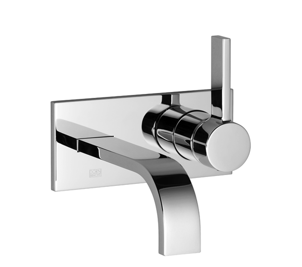 Dornbracht 36822782-000010 MEM Wall-Mounted Single-Lever Mixer without Drain - Polished Chrome
