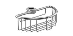 Dornbracht 82290970-00 Series Various Shower Basket for Slide Bar Installation - Polished Chrome
