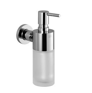 Dornbracht 83435892-00 Round Universal Soap Dispenser Wall-Mounted - Polished Chrome