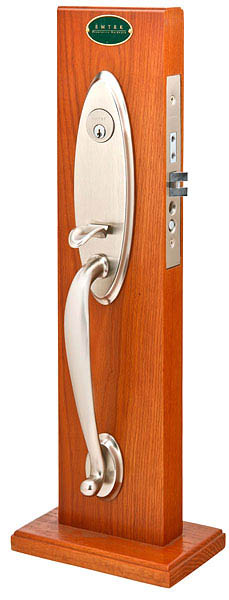 Emtek 3302 Brass Mortise Memphis Entry Set