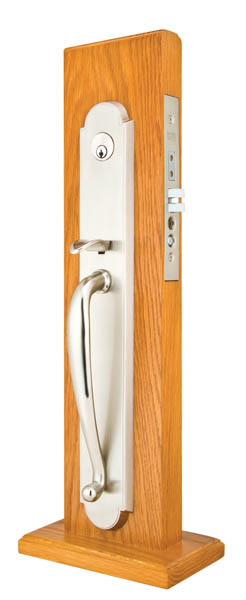 Emtek 3050 Brass Mortise Albany Entry Dummy