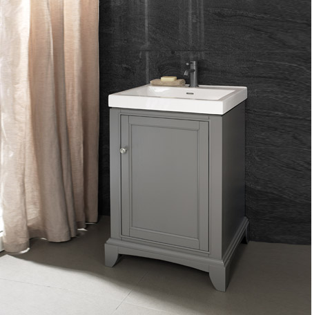 "Fairmont 1504-V2118 Smithfield 21x18"" Vanity - Medium Gray"