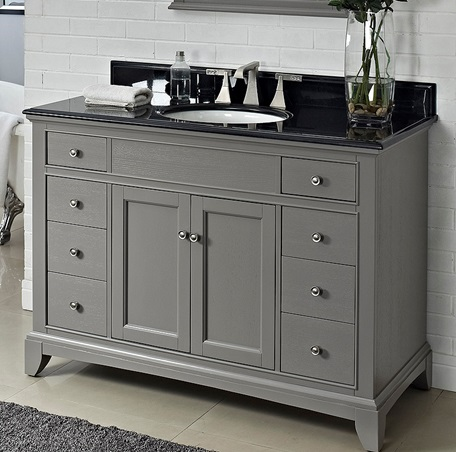 "Fairmont 1504-V48 Smithfield 48"" Vanity - Medium Gray"