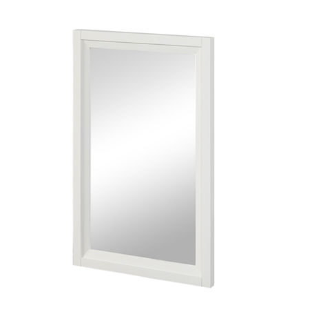 "Fairmont 1517-M19 Studio One 19"" Mirror - Glossy White"