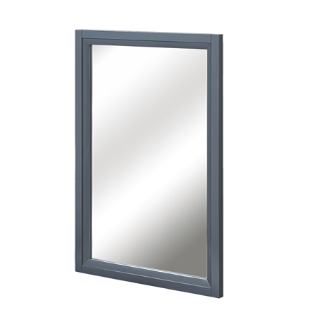 "Fairmont 1518-M19 Studio One 19"" Mirror - Glossy Pewter"