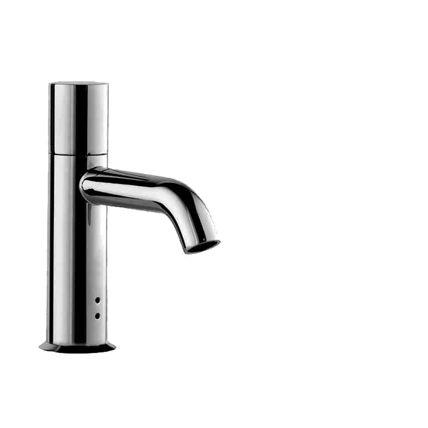 Fantini 2504WU Nostromo Single-Control Electronic Washbasin Mixer, Cylindrical Handle