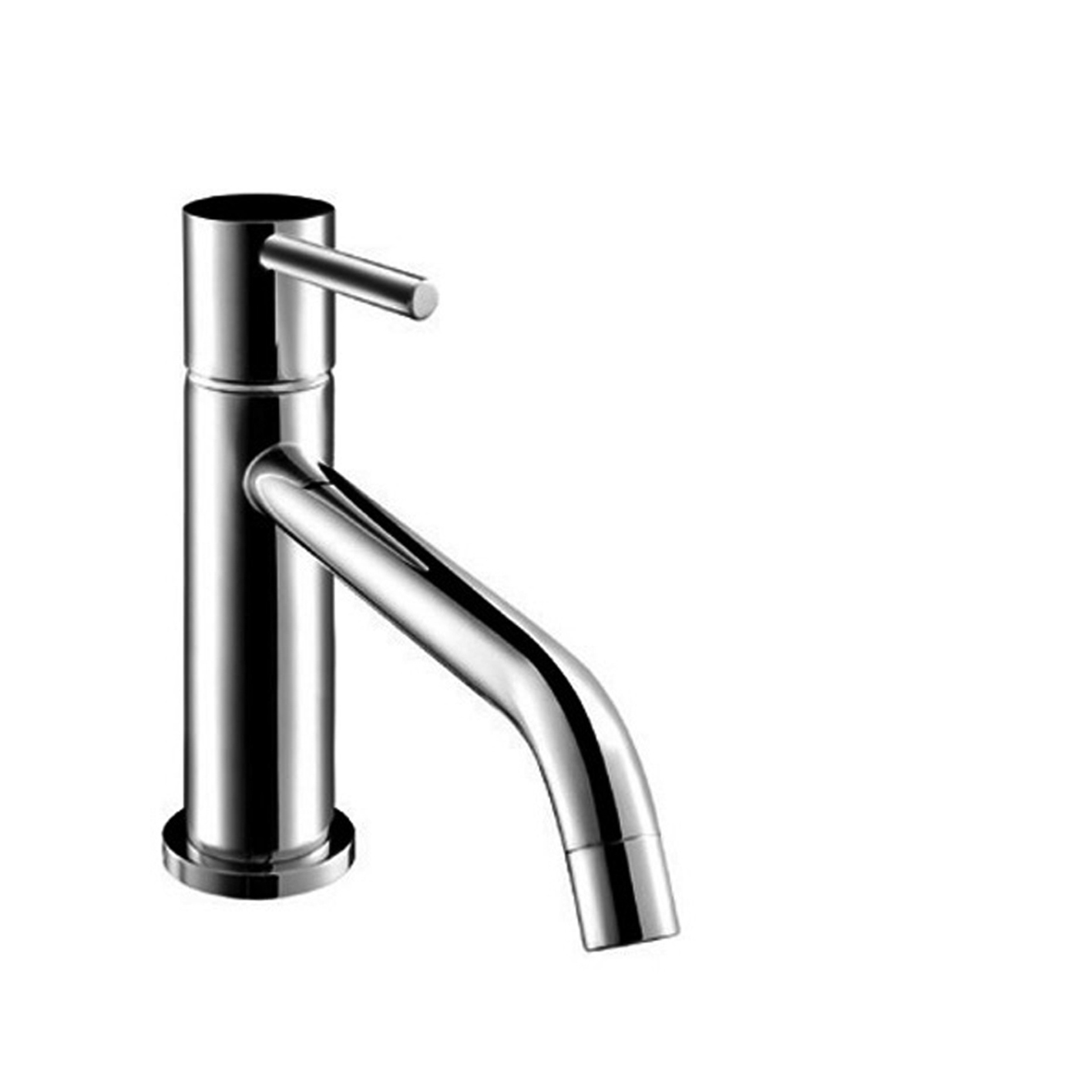 Fantini 2803U Nostromo Single-Control Washbasin Mixer with extended Spout, Handle with Lever - SMALL