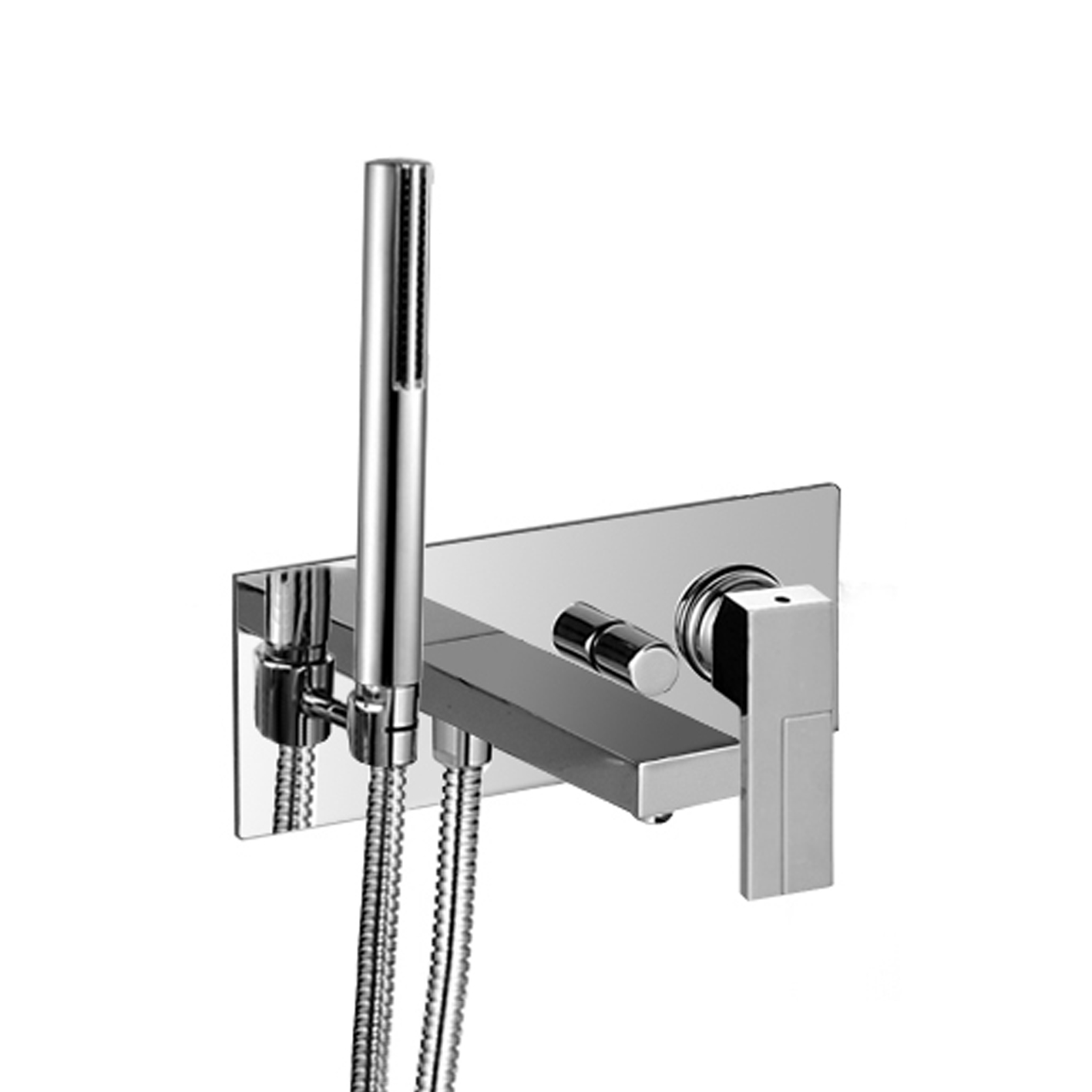 Fantini 3320SB+3320AU Plano In-Wall non-Thermostatic Single-Control Tub Mixer