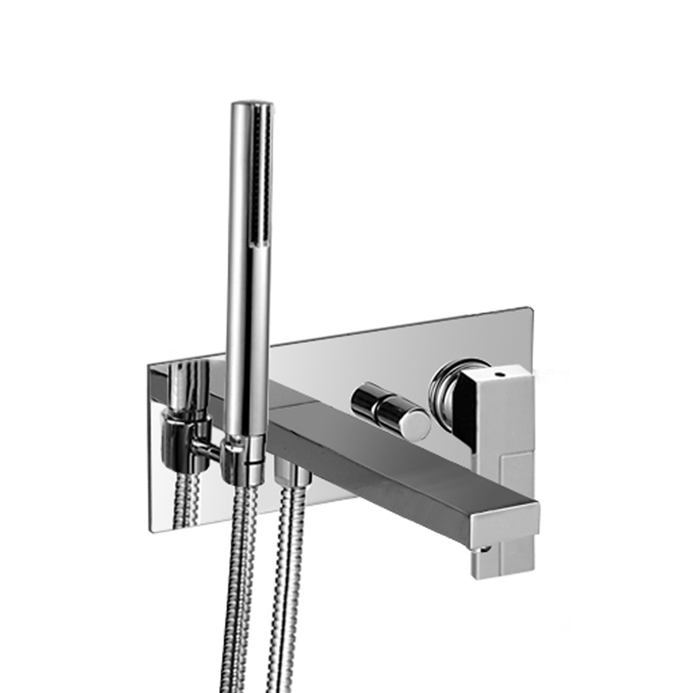 Fantini 3321SB+3320AU Plano In-Wall non-Thermostatic Single-Control Tub Mixer
