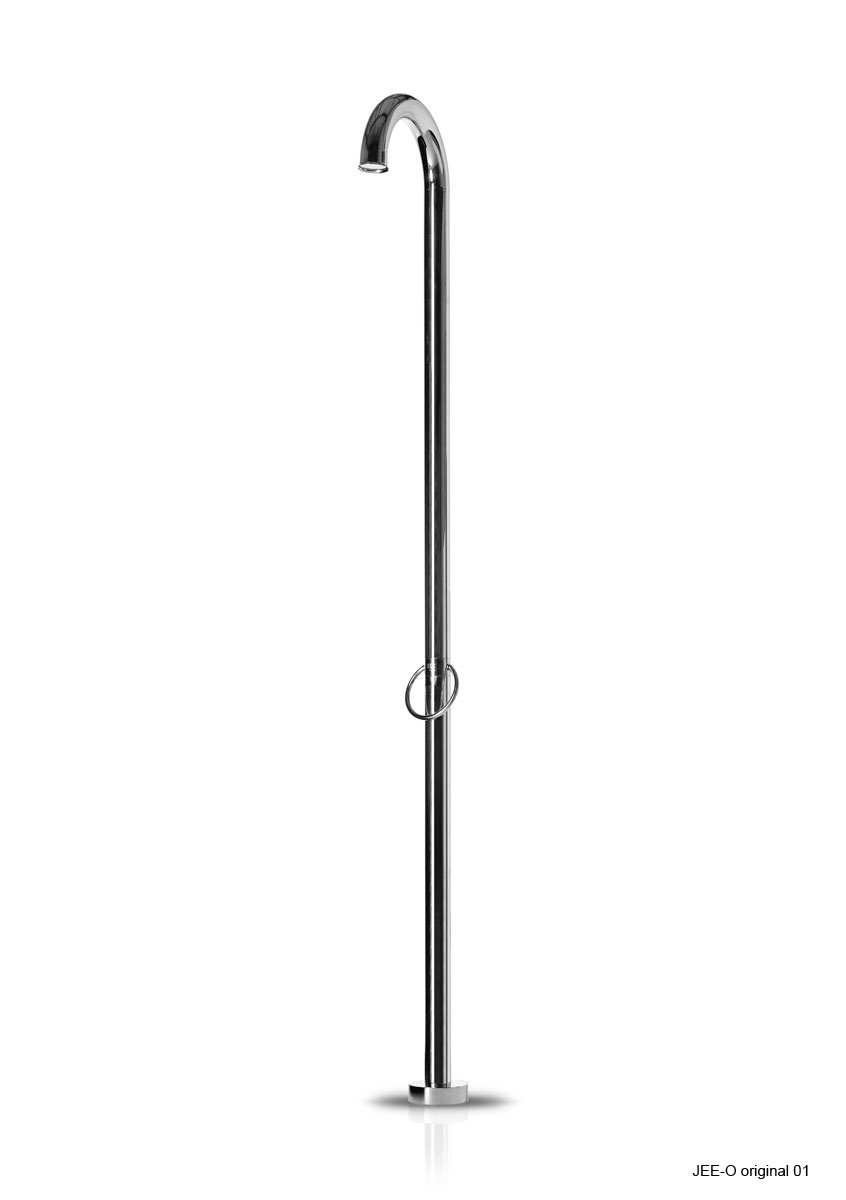Jee-O 400-6380 Original 01 Freestanding Shower with Hot/Cold Mixer - Polished Stainless Steel