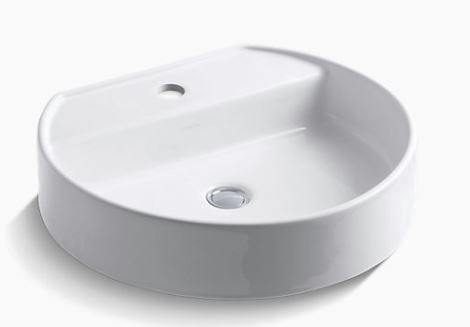 Kohler K-2331-1-0 Wading Pool® bathroom sink