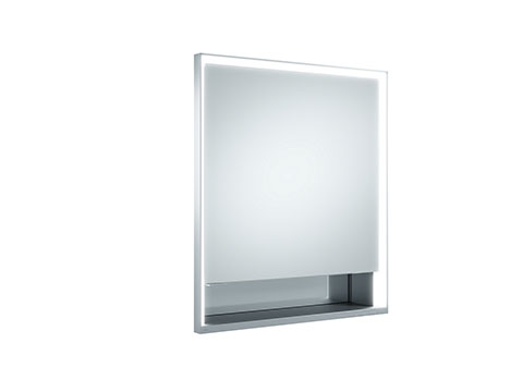 Keuco 14311171151 Mirror Cabinet - Silver Anodized/Right Hand