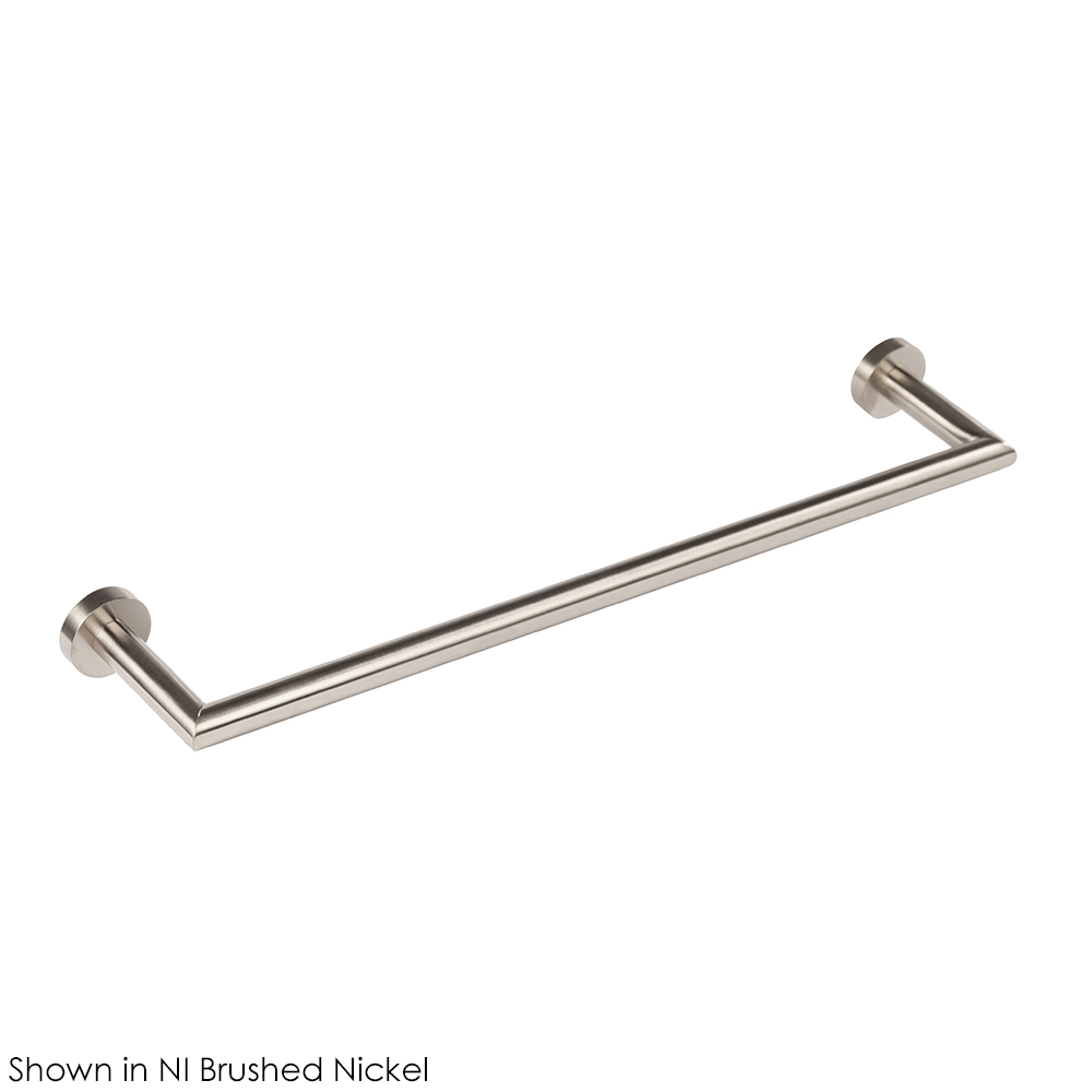 Lacava 0201-NI Wall-Mount Towel Bar - Brushed Nickel