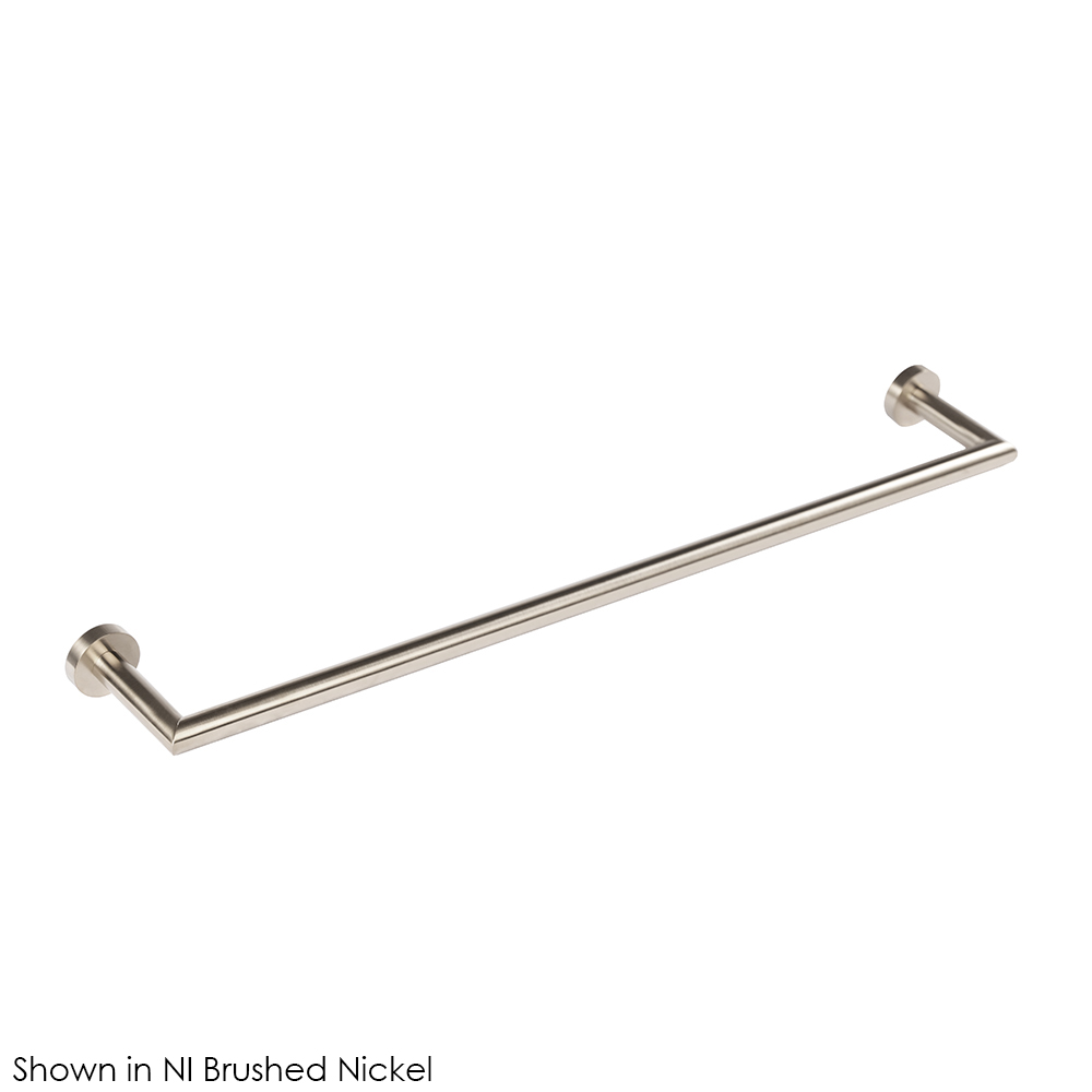 Lacava 0202-NI Wall-Mount Towel Bar - Brushed Nickel