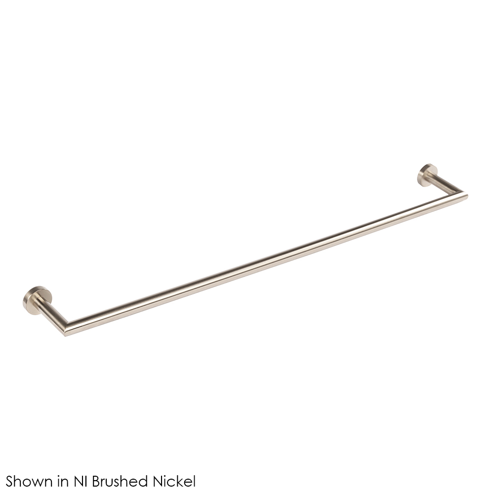 Lacava 0202L-NI Wall-Mount Towel Bar - Brushed Nickel