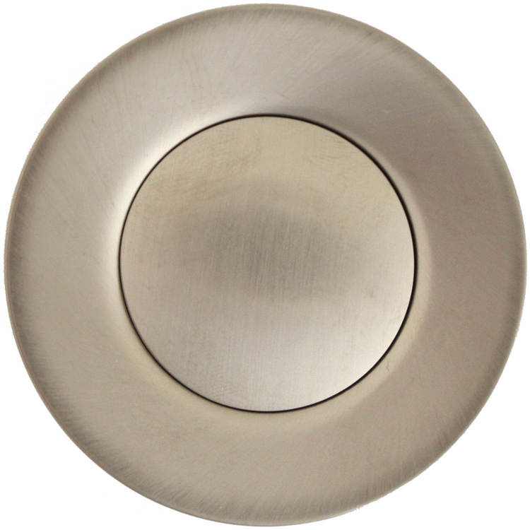 Linkasink D006 SN Pop-Up - Satin Nickel with horizontal pull rod