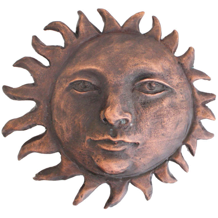 Linkasink D101 WC Metal Sun - Weathered Copper