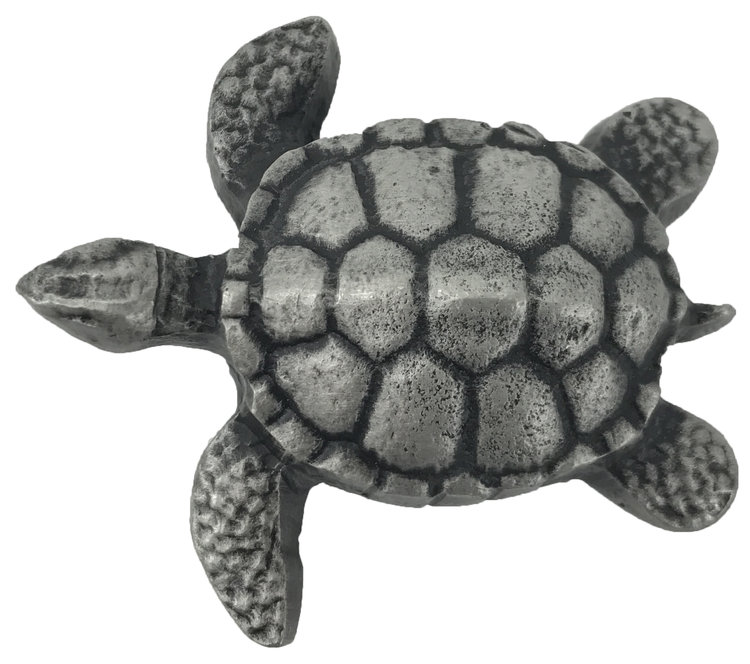 Linkasink D111 PW Metal Small Turtle - Pewter