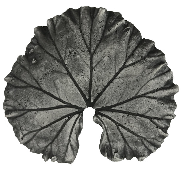 Linkasink D116 PW Metal Large Leaf - Pewter - Without Frog