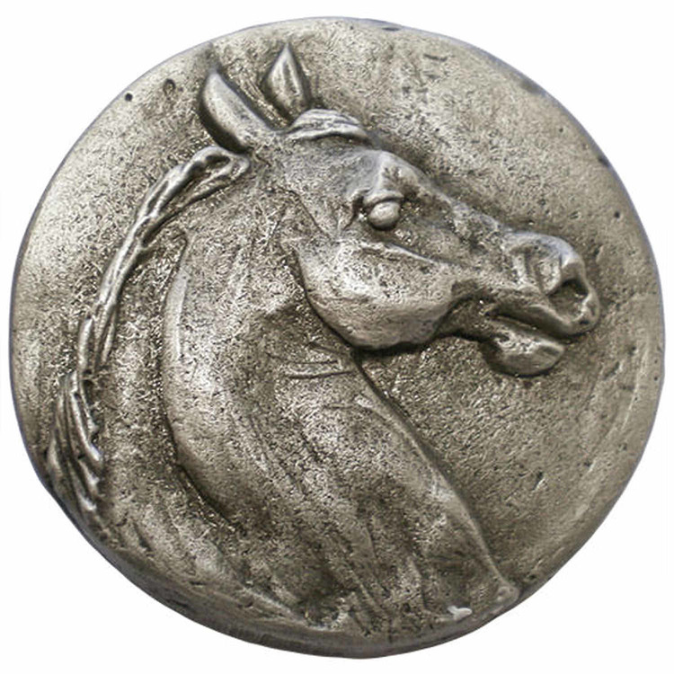 Linkasink D124 PW Horse Head - Pewter