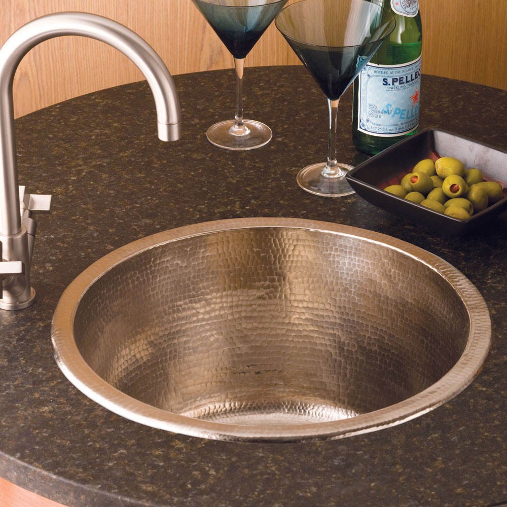 Native Trails CPS551 Redondo Grande Bar Sink - Brushed Nickel